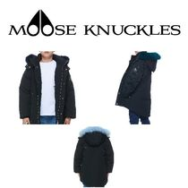 MOOSE KNUCKLES(ムースナックルズ) キッズアウター 【Moose Knuckles】UNISEX KIDS PARKA/COLORFUL FUR サイズあり