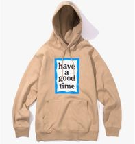 【HAVE A GOOD TIME】Blue Frame Pullover Hoodie SAND パーカー