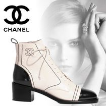 CHANEL 19SS 新作 Chaussures a lacets レースアップブーツ