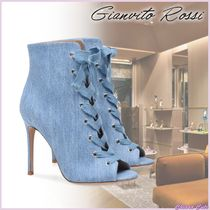 【19SS NEW】Ginavito Rossi/MARIE BOOTIE/オープントゥブーティ