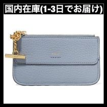 送料関税無料 Chloe DREW TEXTURED-LEATHER CARDHOLDER