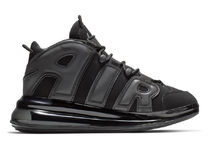 SS19 NIKE AIR MORE UPTEMPO 720 MEN'S TRIPLE BLACK ブラック
