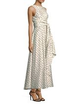 Diane von Furstenberg Silk Polka Dot Dress ドレス セール