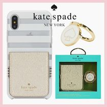 ☆Kate Spade☆ステッカーポケット&バンカーリング ギフトセット