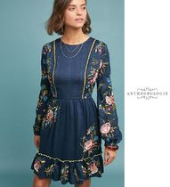 アンソロ★Jamila Embroidered Tunic Dress