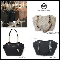 【Michael Kors】 Jet Set Travel LG Chain Shoulder Tote