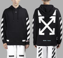 即発送 OFF WHITE 17FW ARROW OVER HOODIE