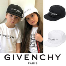 【GIVENCHY】大人OK!2019SS新作 キッズ ロゴキャップ