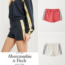 Abercrombie&Fitch*国内発送(追跡有)送関込*ロゴテープショート