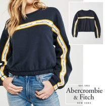 Abercrombie&F*国内発送(追跡有)送関込*ロゴテープスウェット