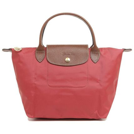 859c50ea4767 Longchamp トートバッグ ロンシャン トートバッグ 1621 089 P16 LE PLIAGE 色:FIG-ピンク ...