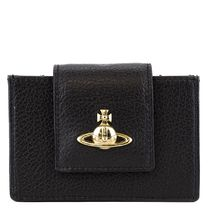 VivienneWestwood BALMORAL CARD HOLDER WITH i18aw402121blk