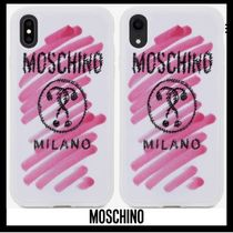 ■Moschino■iPhone case X/XS/XS MAX/XR 【送関込】