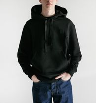 Acne Ferris Face-patch Hooded フェイス付リラックスパーカー