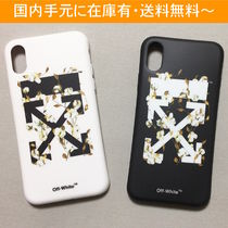 OFF-WHITE COTTON FLOWER iPhone case