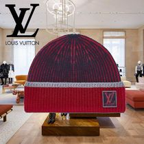 19SS Louis Vuitton(ルイヴィトン) LV PURE HAT レッド ニット