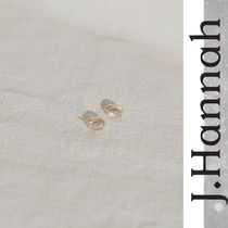 LA発!雑誌掲載多数【J. Hannah】Glace Stud Earrings 送料無料