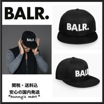 【BALR.】関送込 BRAND COTTON CAP BLACK 黒