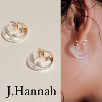 LA発!雑誌掲載多数【J. Hannah】Glace Hoop Earrings 送料無料!