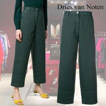 【19SS】★Dries Van Noten★flared cropped trousers