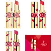 【ysl】バレンタイン限定 ROUGE VOLUPTE SHINE HEARTS & ARROWS