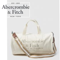 Abercrombie&Fitch*国内発送(追跡有)送関込*ロゴボストンバッグ