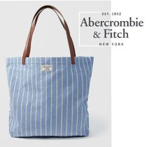 Abercrombie&Fitch*国内発送(追跡有)送関込*キャンバストート