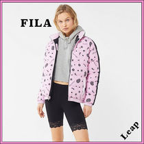 【FILA】人気☆Beitris Quilted Puffer Jacket ピンク★