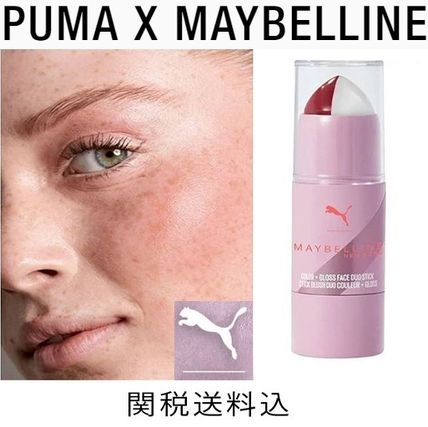 限定!PUMA X MAYBELLINE COLOR + GLOSS DUO フェーススティック