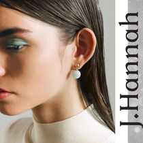 LA発!雑誌掲載多数【J. Hannah】Glace Drop Earrings Aquamarine