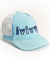 【 Sun's Out Hat 】★ Hydra Blue/White/Rad Rays HBVB