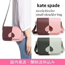 【国内発送】nicola bicolor small shoulder bagセール