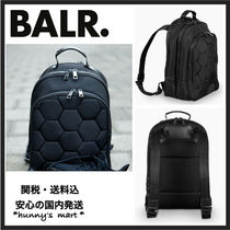 【BALR.】関送込 ナイロン BACKPACK 黒