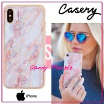 【日本未入荷★Casery★】Candy Marble iPhone ケース