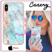 【日本未入荷★Casery★】Frosty Marble iPhoneケース