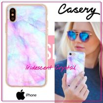 【日本未入荷★Casery★】Iridescent Crystal iPhoneケース