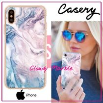 【日本未入荷★Casery★】Cloudy Marble iPhoneケース