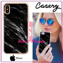 【日本未入荷★Casery★】Black Marble iPhoneケース
