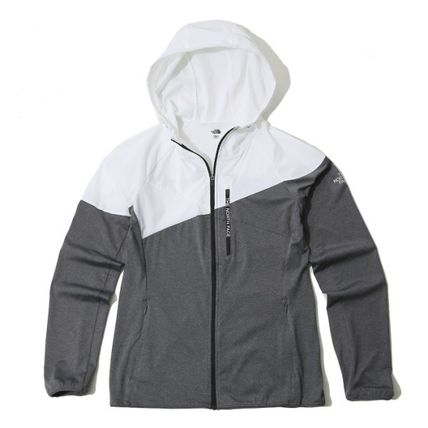 THE NORTH FACE アウターその他 THE NORTH FACE W 'S NEW TACOMA ZIP UP WHITE NJ5JK33L