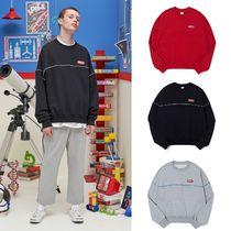 ACOVER(オコボ) スウェット・トレーナー 【ACOVER】EARTH PIPING SWEAT SHIRT (3color) - UNISEX