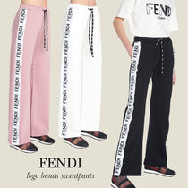 【FENDI】ロゴ bands sweatpants