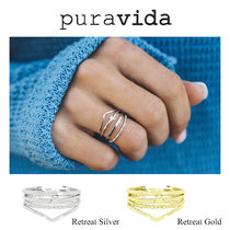 ブランド正規品 Ron Herman 取扱 Pura Vida Beach Ring Set 指輪