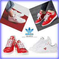 【Adidas】 STAN SMITH HEART スニーカー/ 追跡付