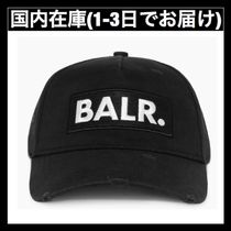 送料関税無料 BALR. CLASSIC DISTRESSED CAP BLACK