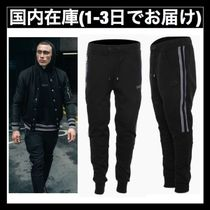 送料関税無料 BALR. Q-SERIES STRIPED SWEATPANTS