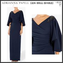【海外限定】AdriannaPapellドレス☆Ruched Embellished Dress