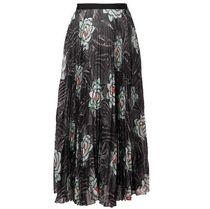 SALE!!【Dries Van Noten】floral print pleated skirt