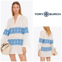 【日本未入荷】Tory Burch STEPHANIE EMBROIDEREDチュニック