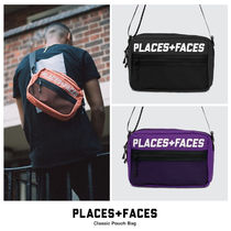 【PLACES+FACES】ロゴショルダーバッグ (関税送料込)