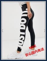 関税込み ☆Nike-Black High Rise Just Do It Leggings